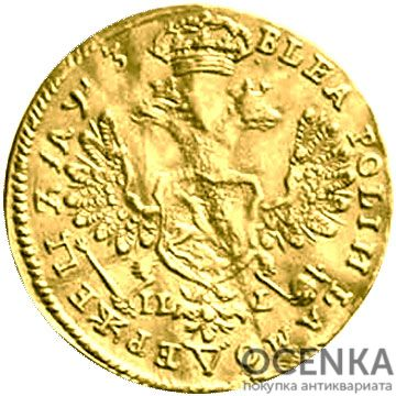 1 червонец 1707 года Петр 1