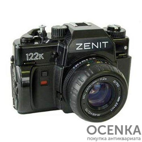 Фотоаппарат Зенит-122К КМЗ 1990-1992 год