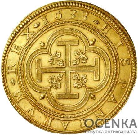 Золотая монета 100 Эскудо (100 Escudos) Испания - 2