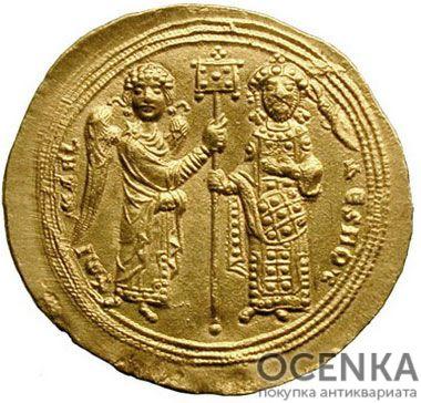 Золотой гистаменон Византии, Михаил V Калафат, 1041-1042 год - 1