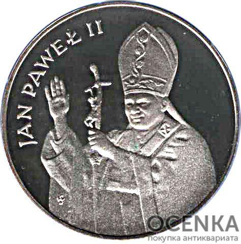 Серебряная монета 10 000 Злотых (10 000 Złotych) Польша - 2