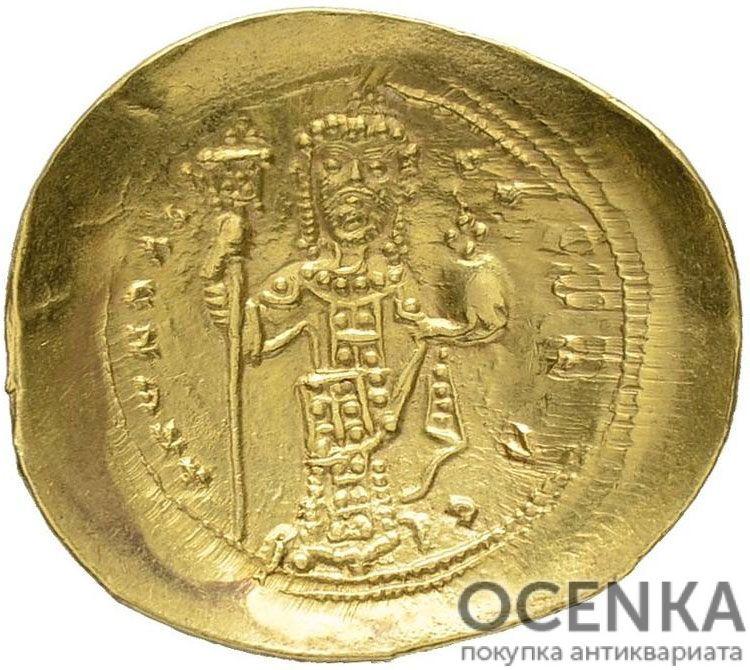 Золотой гистаменон Византии, Константин X Дука, 1059-1067 год - 1
