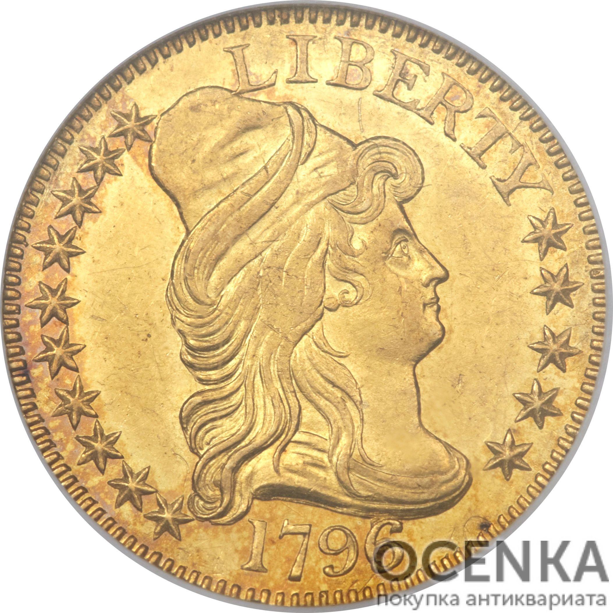 Золотая монета 5 Dollars (5 долларов) США - 1