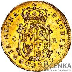Золотая монета Double Crown (двойная крона) Великобритания - 5