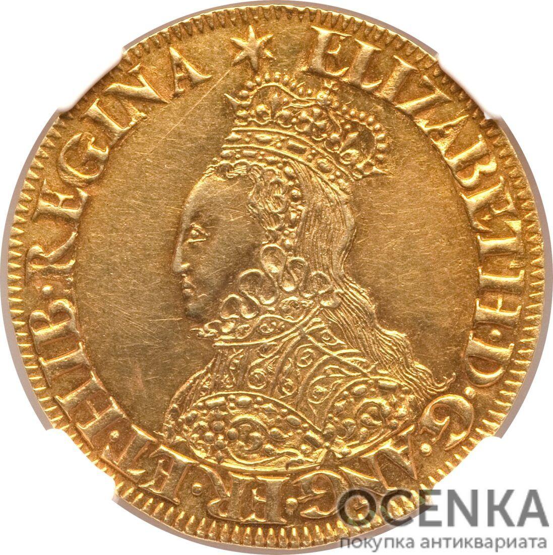 Золотая монета ½ Pound (полфунта) Великобритания