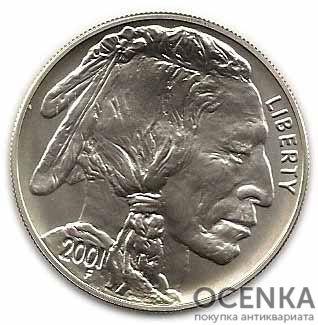 Серебряная монета 1 Доллар (One Dollar) США - 7