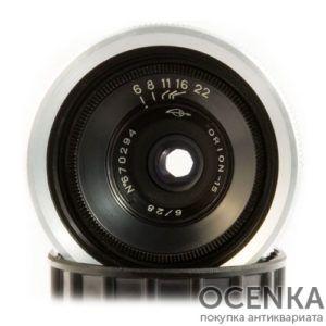 Объектив Орион-15 5.8/28 мм