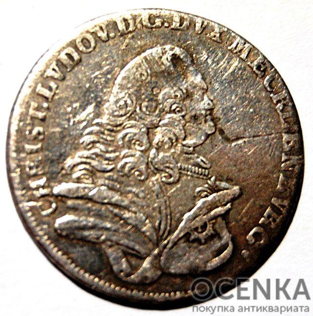 Серебряная монета 8 Грошей (8 Groschen) Германия - 7