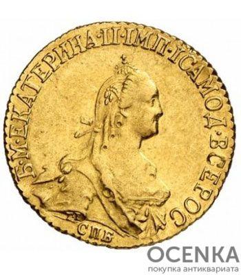 5 рублей 1774 года Екатерина 2 - 1