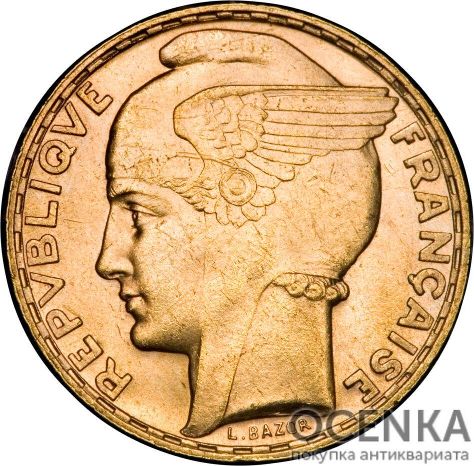 Золотая монета 100 Франков (100 Francs) Франция - 5