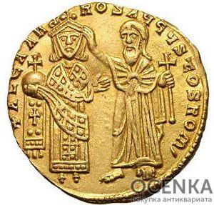 Золотой солид Византии, Александр, 912-913 год - 1
