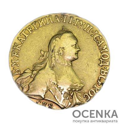 5 рублей 1764 года Екатерина 2 - 1