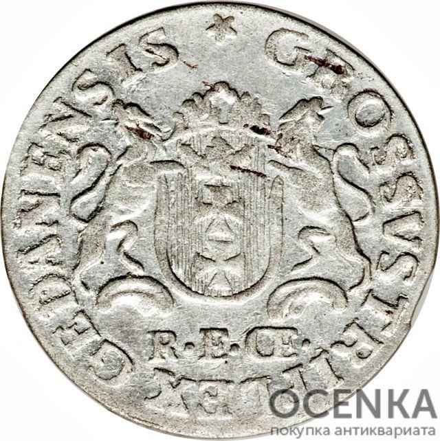 Серебряная монета Трояк (3 гроша) Средневековой Польши - 1