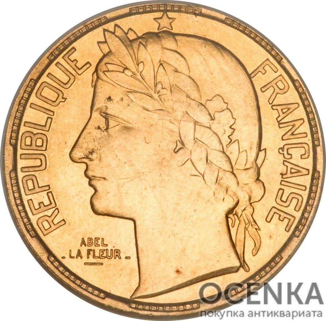 Золотая монета 100 Франков (100 Francs) Франция - 7