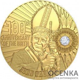 Золотая монета 2000 Франков (2000 Francs) Камеруна - 3