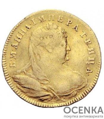1 червонец 1739 года Анна Иоанновна - 1