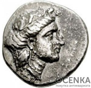 Серебряная монета Статер Древней Греции - 5