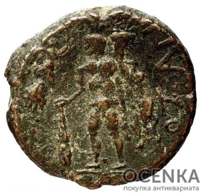 Медная монета Асс Древней Греции - 1