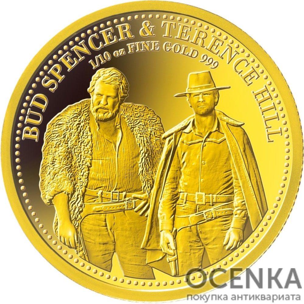 Золотая монета 20 Долларов Островов Кука - 5