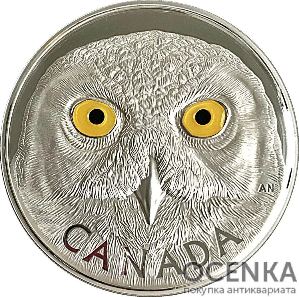 Серебряная монета 250 Долларов Канады - 5