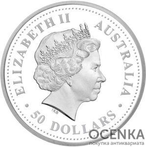 Платиновая монета 50 долларов Австралии