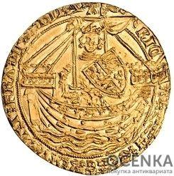 Золотая монета 1 Noble (нобль) Великобритания - 2