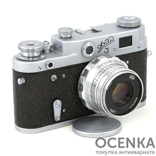 Фотоаппарат ФЭД-3 бескурковый 1961-1966 год