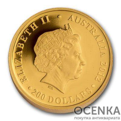 Золотая монета 200 долларов 2012 год. Австралия. Коала - 1