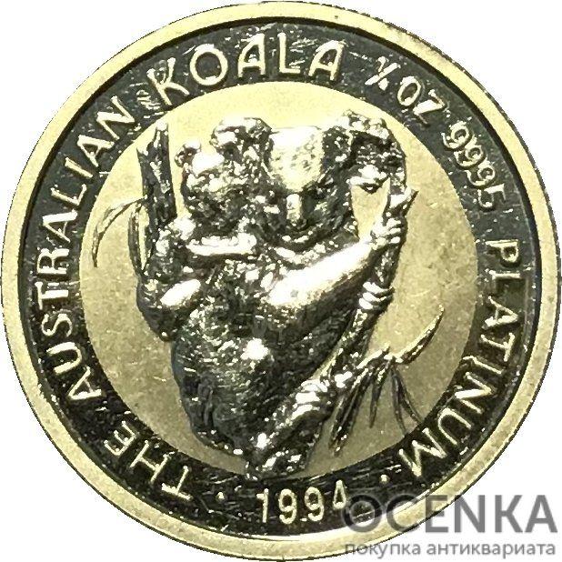 Платиновая монета 25 долларов Австралии - 3