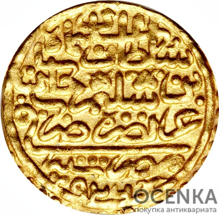 Золотая монета 1 Султани (1 Sultani) Египет - 1