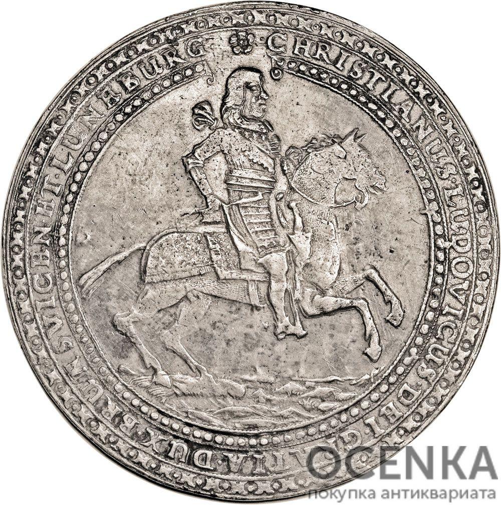 Серебряная монета 3 Талера (3 Thaler) Германия - 1