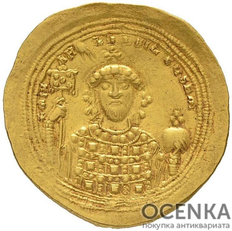 Золотой гистаменон Византии, Михаил IV Пафлагонский, 1034-1041 год - 1