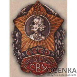 Нагрудный знак Дальневосточное СВУ (г. Уссурийск)