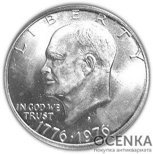 Серебряная монета 1 Доллар (One Dollar) США - 1