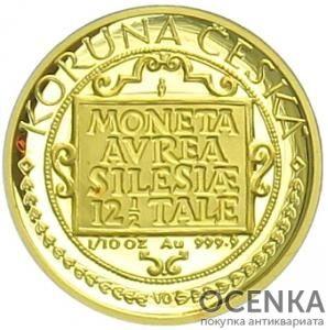 Золотая монета 1000 Крон (1000 Korun) Чехия - 1