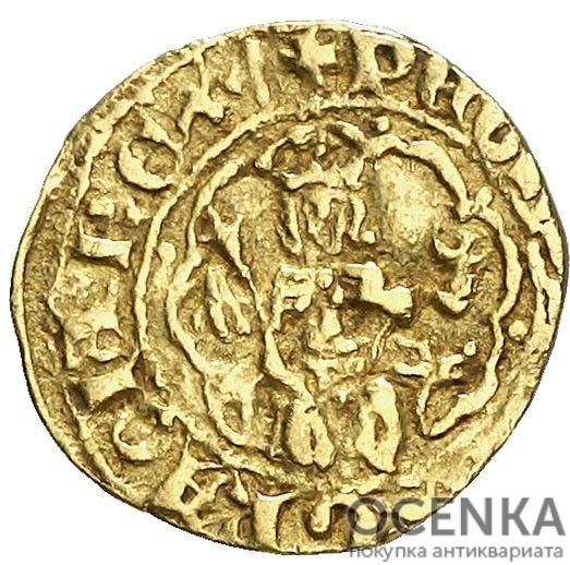 Золотая монета ¼ Реала (¼ Real) Испания - 3