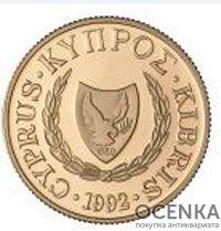 Золотая монета 20 Фунтов (20 Pounds) Кипр - 1