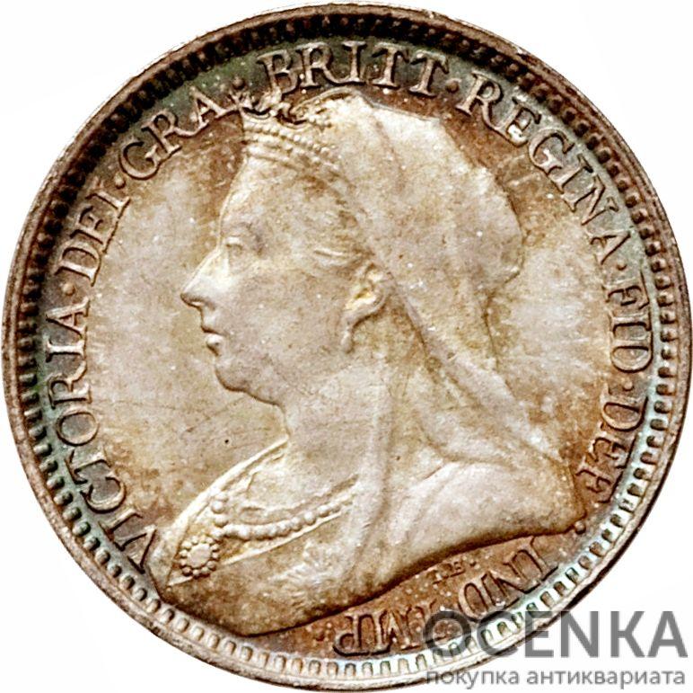 Серебряная монета 2 Пенса (2 Pence) Великобритания - 7