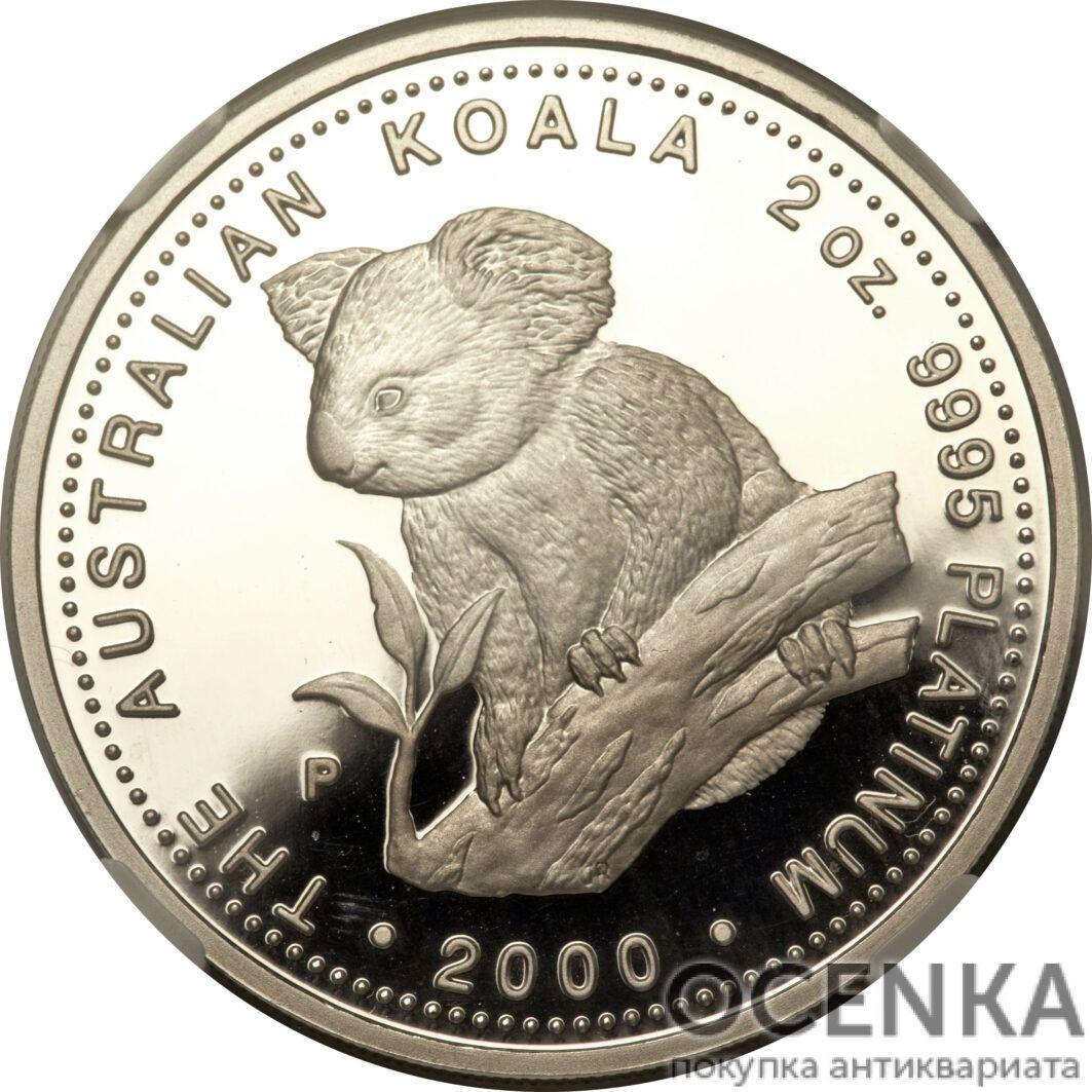 Платиновая монета 200 долларов Австралии - 2
