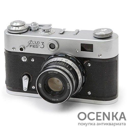 Фотоаппарат ФЭД-3 с курком 1966-1979 год