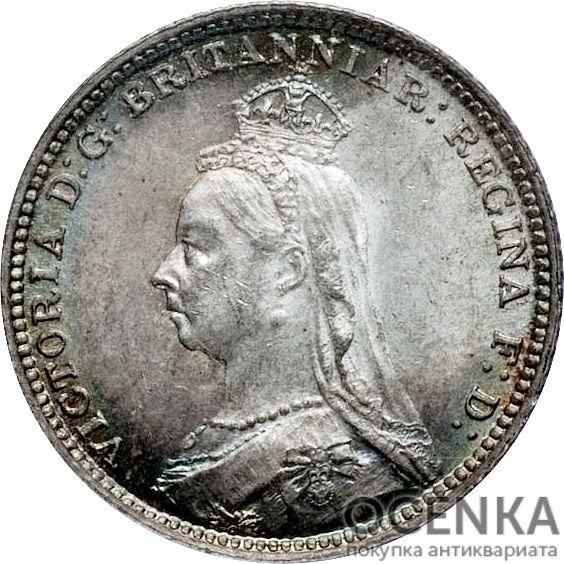 Серебряная монета 4 Пенса (4 Pence) Великобритания - 7