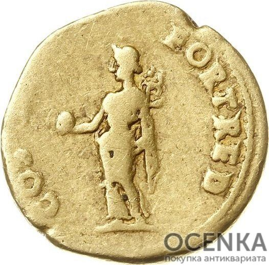 Золотой ауреус, Тит Флавий Цезарь Веспасиан Август, 69-79 год - 1