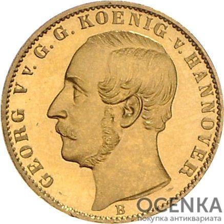Золотая монета ½ Кроны Германия - 3