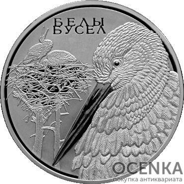 Серебряная монета 100 Рублей Белоруссии - 5