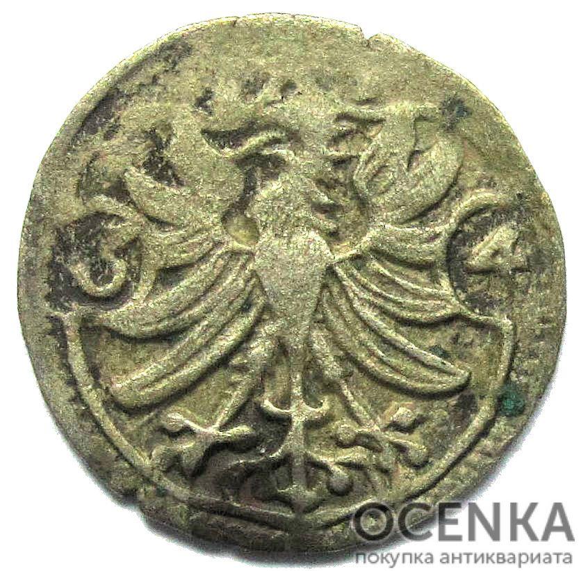 Серебряная монета 3 Пфеннига (3 Pfennig) Германия