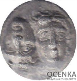 Серебряная монета Статер Древней Греции - 6