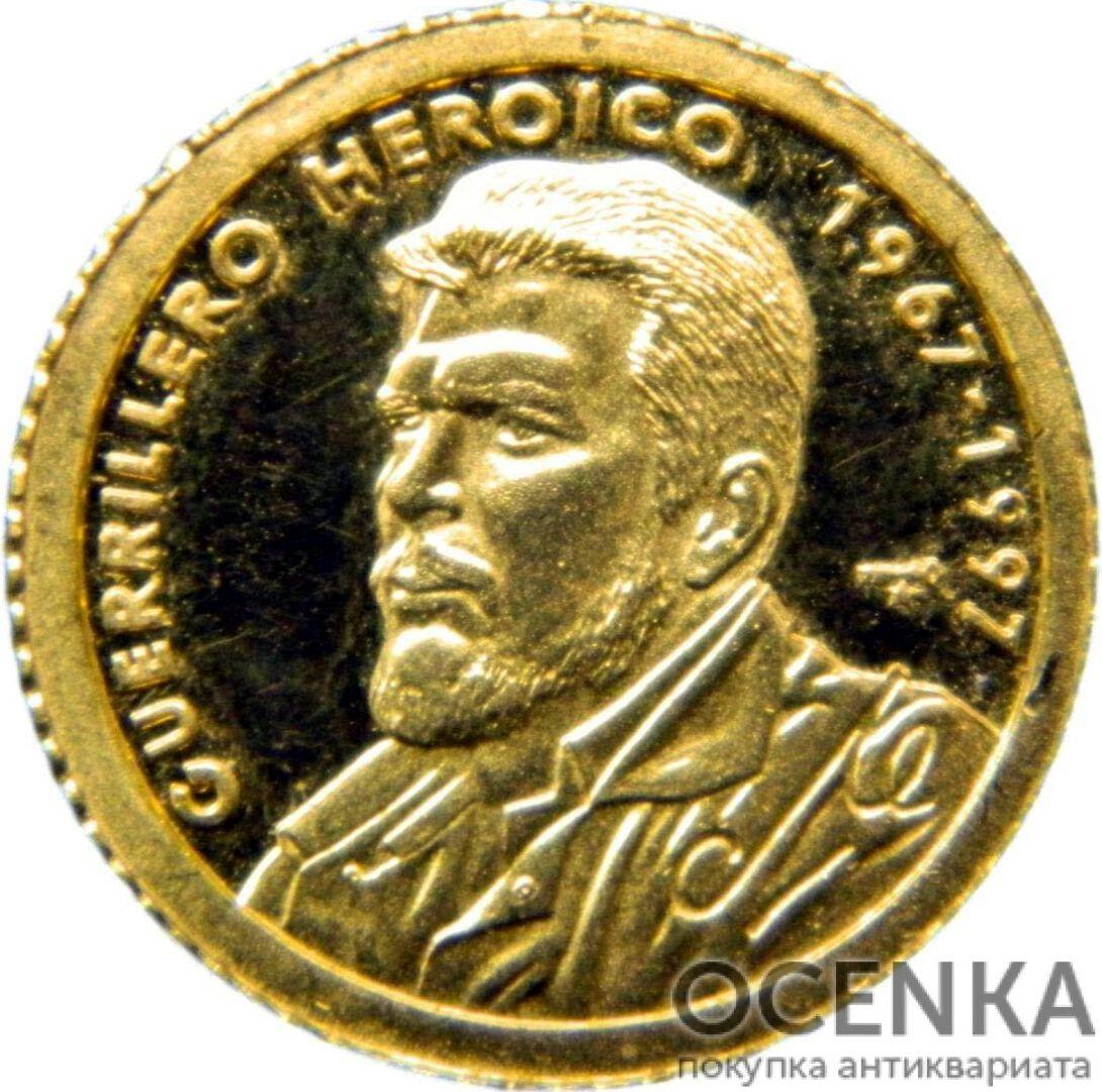 Золотая монета 10 Песо (10 Pesos) Куба - 5