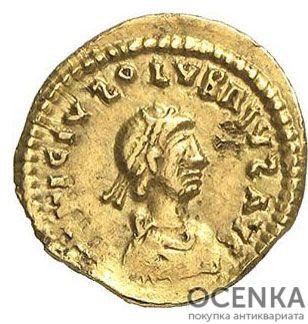 Золотой солид, Флавий Аниций Олибрий, 472 год