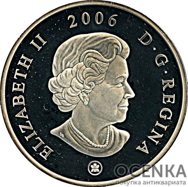 Серебряная монета 50 Долларов Канады - 6