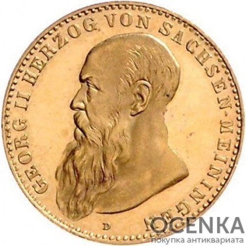 Золотая монета 10 Марок Германия - 9